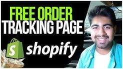 How To ADD Order Tracking Page For FREE On Shopify (MONEY SAVER STRATEGY)