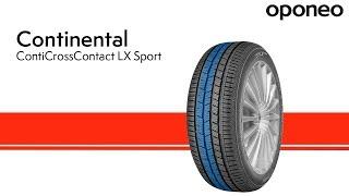 видео Continental ContiCrossContact LX Sport