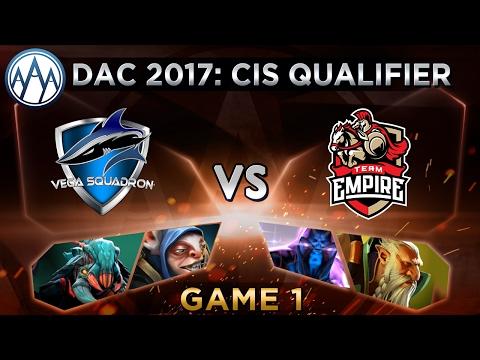 Vega Vs Empire Game 1 - DAC 2017 CIS Qualifier - @LyricalDota @TrentPax