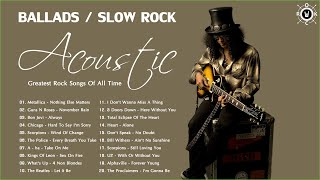 Acoustic Rock Collection | Best Ballads & Slow Rock Songs Of All Time