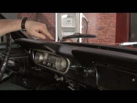 Mustang Ford Tooling Dash Pad 1965 Installation