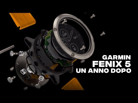 Garmin Fenix 5: Un Anno Dopo