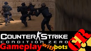 Counter-Strike: Condition Zero gameplay with Hard bots - Dust 2 - Counter-Terrorist