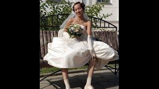 Дерзкая невеста ! Тесть запинал невесту ! Свадебные приколы))))