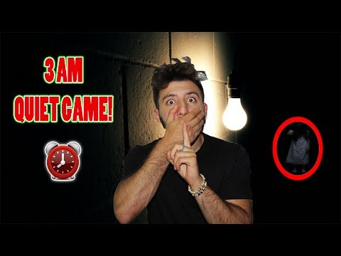 (WE HEARD SOMETHING?!) DONT PLAY THE QUIET GAME AT 3 AM | TH