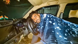 Living 12 HOURS IN THE CAR #scary places in delhi