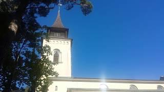 Ringning till högmässa i Boo kyrka