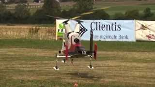 Special 2x Kaman K-max Coaxial Turbine RC transport Helicopter attach and drop down Load