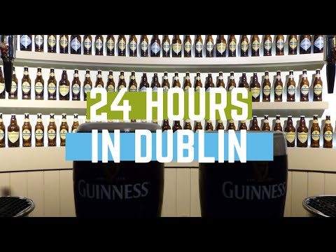 24 HRS IN DUBLIN, 21 PRESENTS & A CIRCUS | VLOG #35