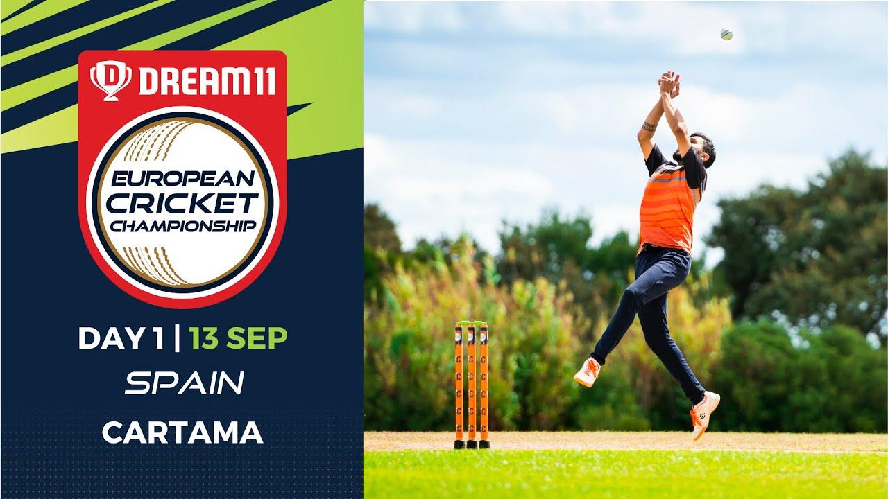 Download 🔴 Dream11 European Cricket Championship   Day 1 Cartama Oval Spain   T10 Live Cricket