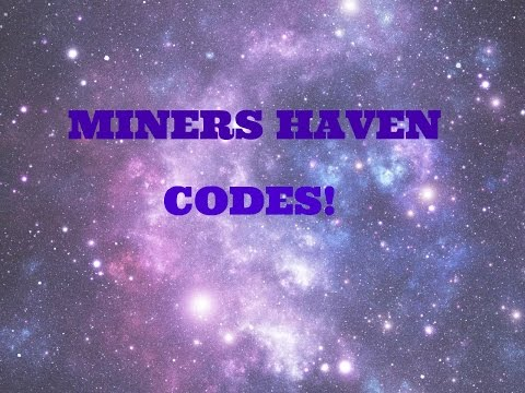 INSANE NEW MINERS HAVEN CODES!!!