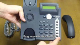 Snom 300 IP-Phone Unboxing and Quick Hands-on