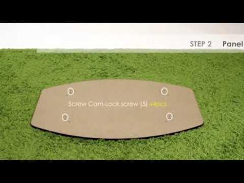 Furinno EX Simple Design Coffee Table Espresso Kitchen - Furinno coffee table