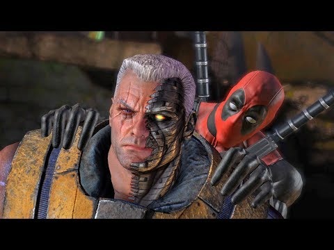Wade Wilson Meets Cable From the Future (Deadpool Game)