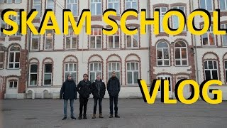 VISITING THE SKAM-SCHOOL [VLOG] & Face reveal