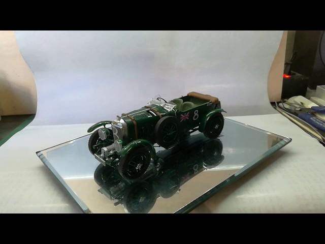 Демонстрация готовой модели автомобиля Бентли 4,5L