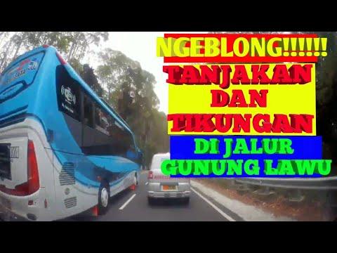 BAHAYA!!! Daihatsu TARUNA Ngeblong Dijalan Ponorogo-Tawangmangu (via Plaosan)