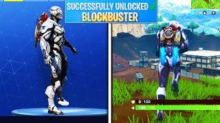🔴 BEST SOLO PLAYER // How To Get The NEW BLOCKBUSTER SKIN IN FORTNITE BATTLE ROYALE!