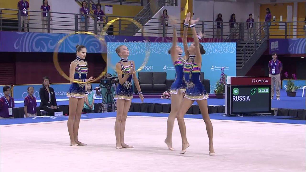 womens group final rhythmic gymnastics singapore 2010