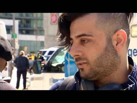 'People were screaming and yelling': Witnesses describe Toronto van attack