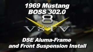1969 Mustang BOSS 302.0 Detroit Speed Aluma-Frame Install Video V8TV