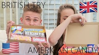 British Try American Candy
