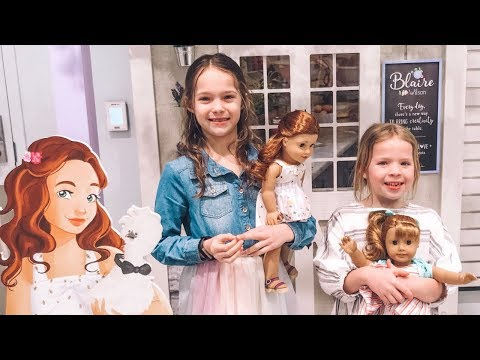 Visiting The American Girl Store In New York City !!!