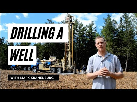 Greenmark Builders TV - Blog 3 - Drilling a well.