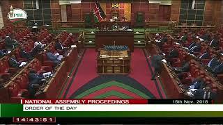 LANGATA MP, HON.GENERALI NIXON KORIR SEEFAR APARTMENTS DEMOLITION PETITION