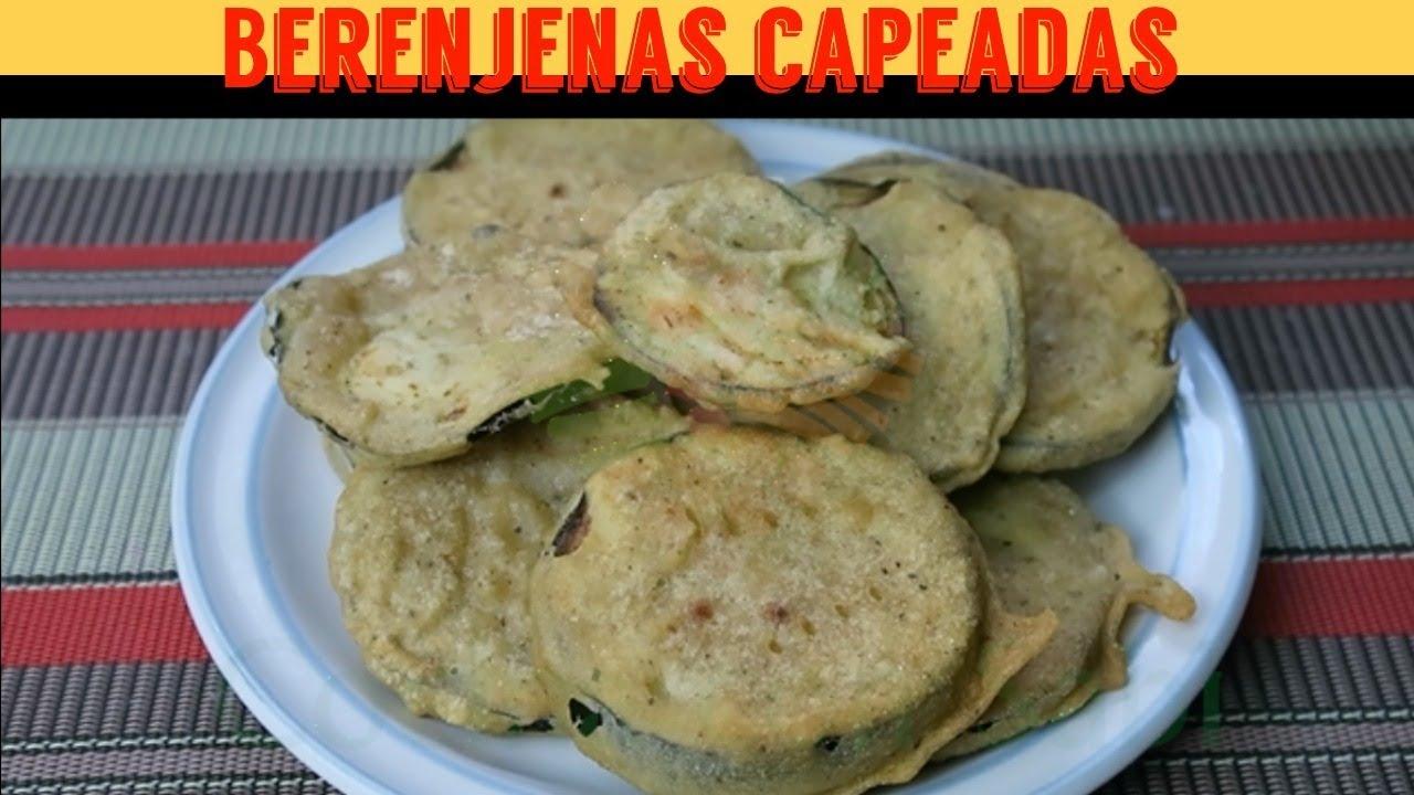 🍆🍆🍆CÓMO HACER BERENJENAS CAPEADAS/SIN HUEVO