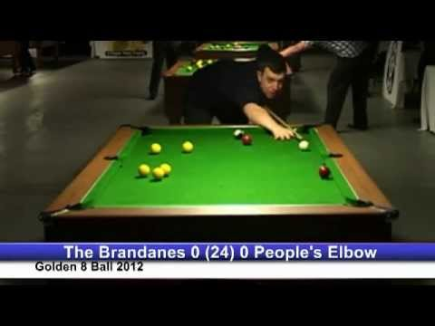 Golden 8 Ball 2012 - The Brandanes v The People's Elbow