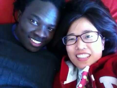 Korean girl black man