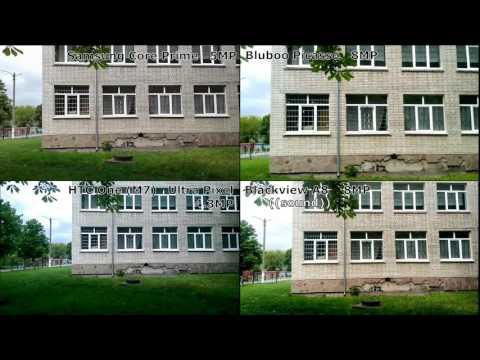 Test cam - Htc one m7 vs Blackview A8 / Samsung Core Prime vs Bluboo Picasso