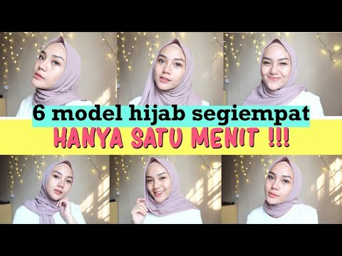 Thanks for watching! XOXO MORE INFO : Bahan hijab : Premium Babydoll Hijab : @mallowhijab TUTORIAL SEGIEMPAT SIMPLE ....