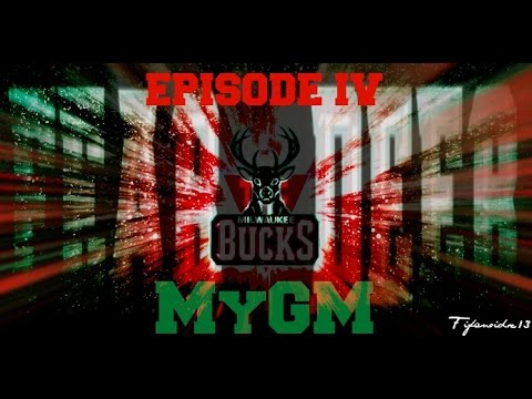 NBA 2K15 MILWAUKEE BUCKS MyGM EP.#4 ~ TRADE NEGOTIATIONS + FIRST 3 GAMES