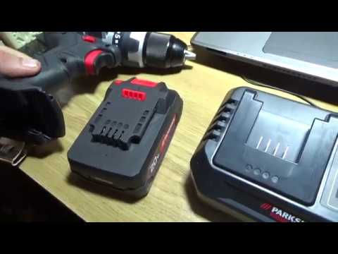 parkside performance cordless drill battery test youtube. Black Bedroom Furniture Sets. Home Design Ideas
