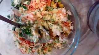 Готовим вместе:Салат из куриного филе и корейской морковки(Это видео создано с помощью видеоредактора YouTube (http://www.youtube.com/editor), 2014-11-14T13:32:15.000Z)