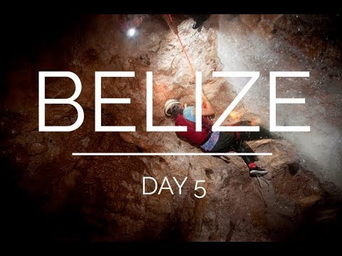 Belize day 5: waterfall cave expedition