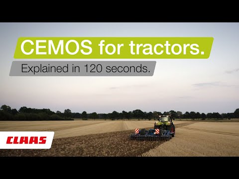 CLAAS CEMOS for tractors. Explained in 120 seconds.