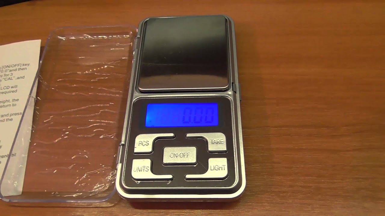 Весы Kromatech Pocket Scale MH-300
