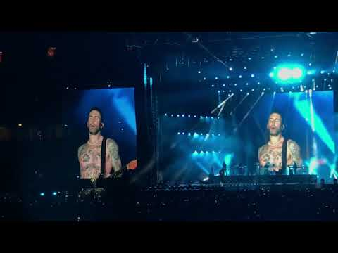 🖤 Maroon 5 - Red Pill Blues Tour Live In Singapore (Part 2) ❤️
