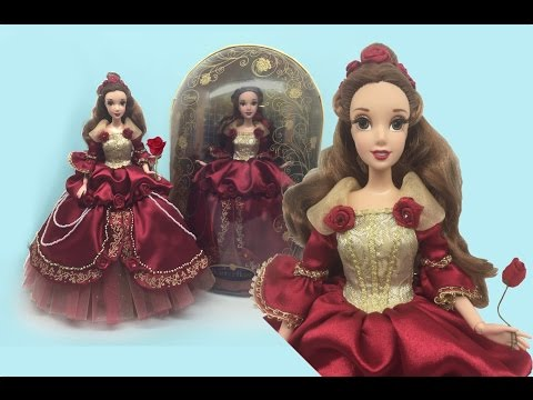 DELUXE EDITION BELLE REVIEW - Disney Store Beauty and the Beast Belle doll