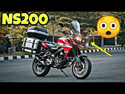 Bajaj Pulsar NS200 Transformed Into Adventure Bike In Stunning Fashion