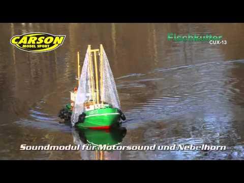 Fischkutter CUX-13 RTR Von Carson: 9709603