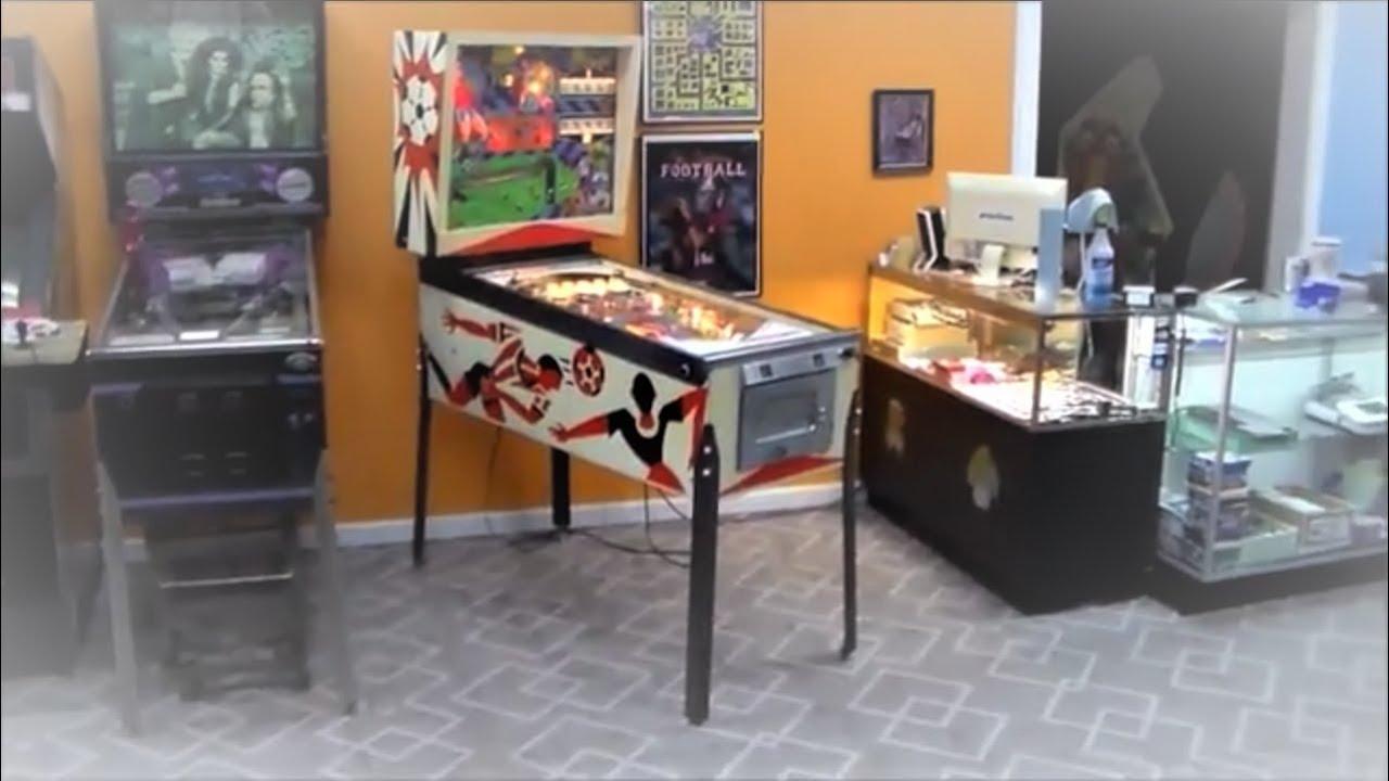 Gottlieb's 1975 Soccer Pinball Machine - Gameplay, Artwork, Cabinet Design
