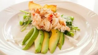 Japanese Crab Meat Salad : Seafood Salad