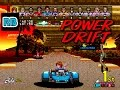 1988 [60fps] Power Drift Course C 7'03''07 ALL