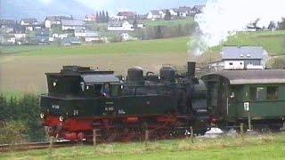 Preußische T16.1 - Dampflok 94 1292 / Erndtebrück - Wallau/Lahn / April 1998