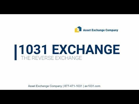 1031 Exchange -  Reverse Exchange
