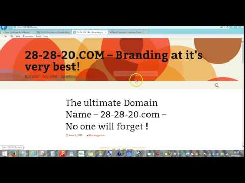How to trade Domain Names